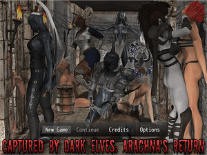 Captured by Dark Elves: Arachna's Return